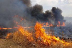 fiamme incendio sicilia