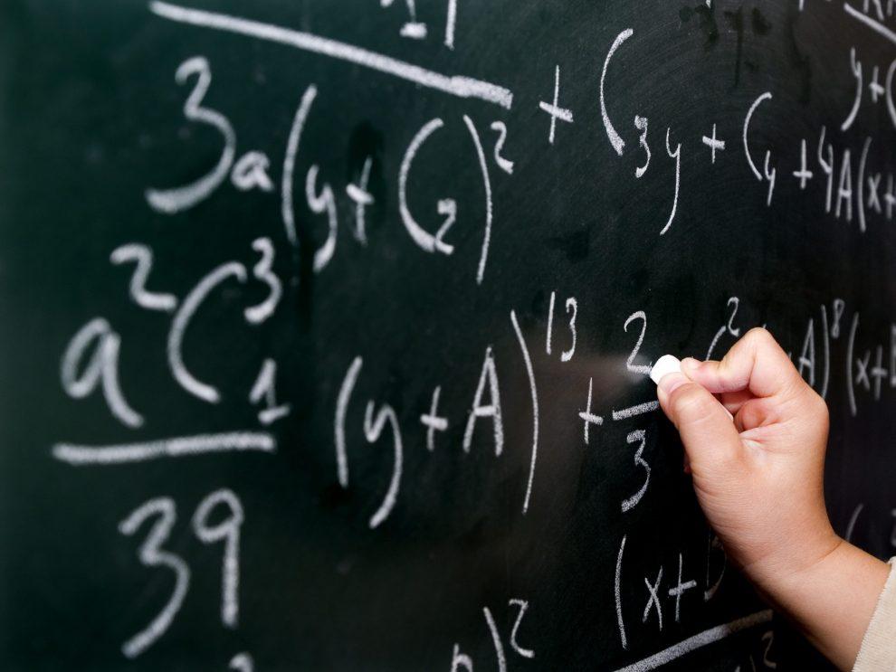 calcoli alla lavagna