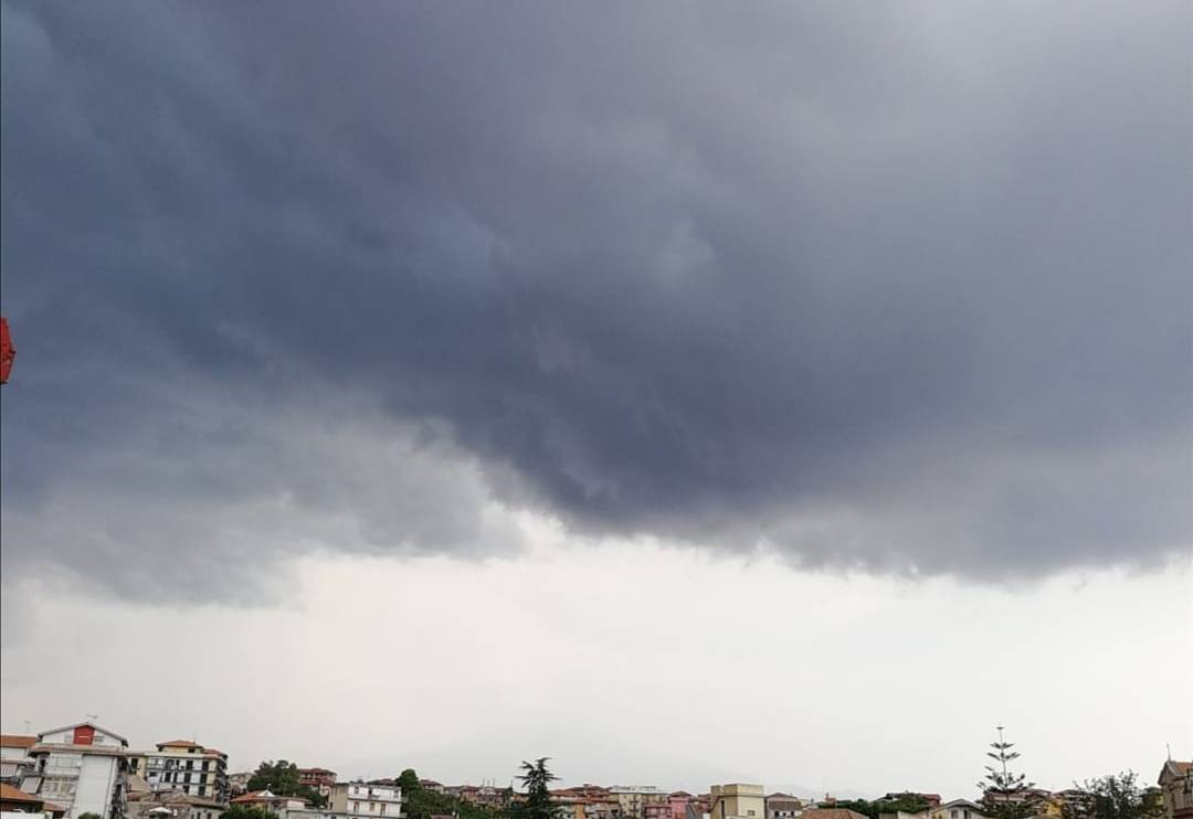 pioggia catania