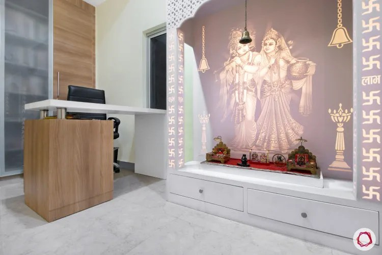 Dreamy White Pooja Room Designs For Your Home