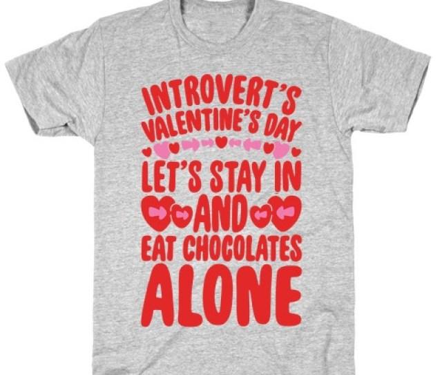 Introverted Valentine Tee