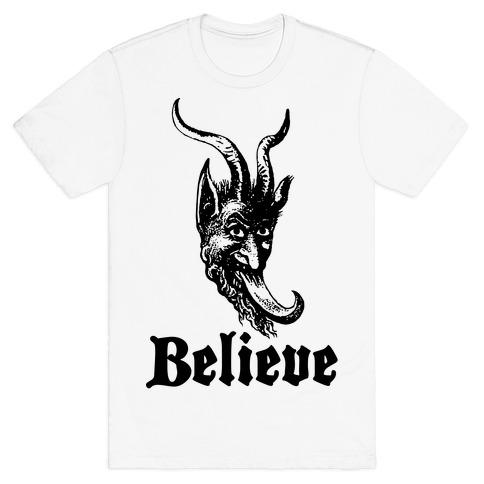 Believe In Krampus T Shirt LookHUMAN