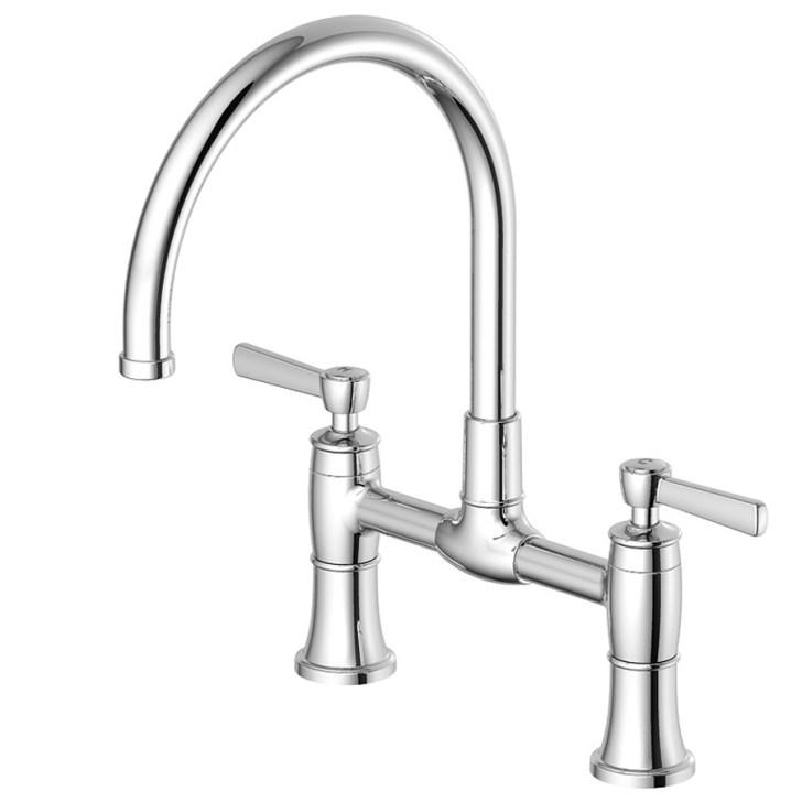 Shop Aquasource Chrome High Arc Kitchen Faucet