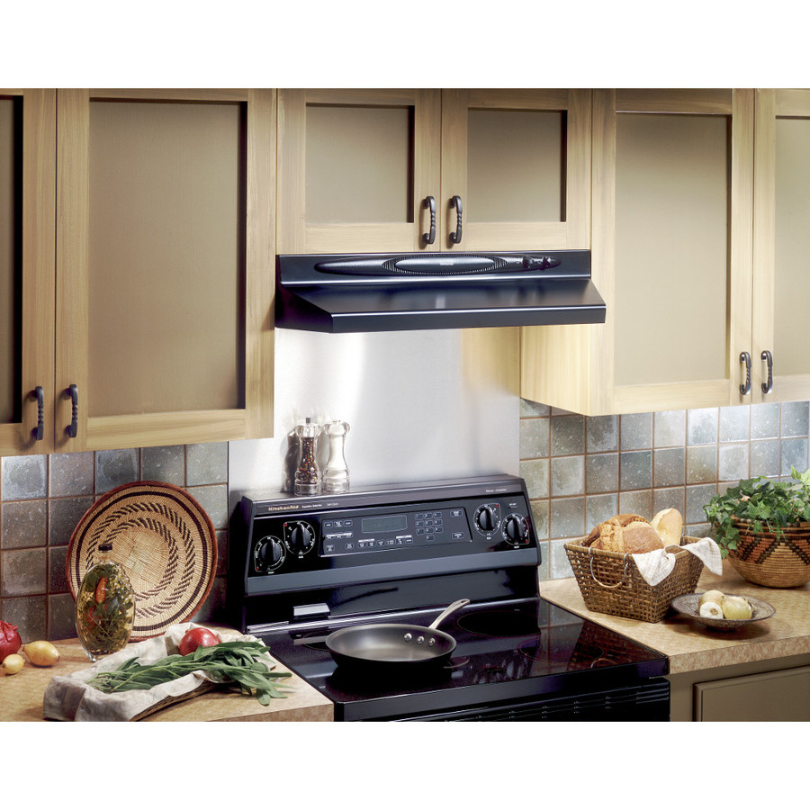 Broan Duct Free Universal Backsplash Plate Stainless Steel In The Range Hood Parts Department At Lowes Com