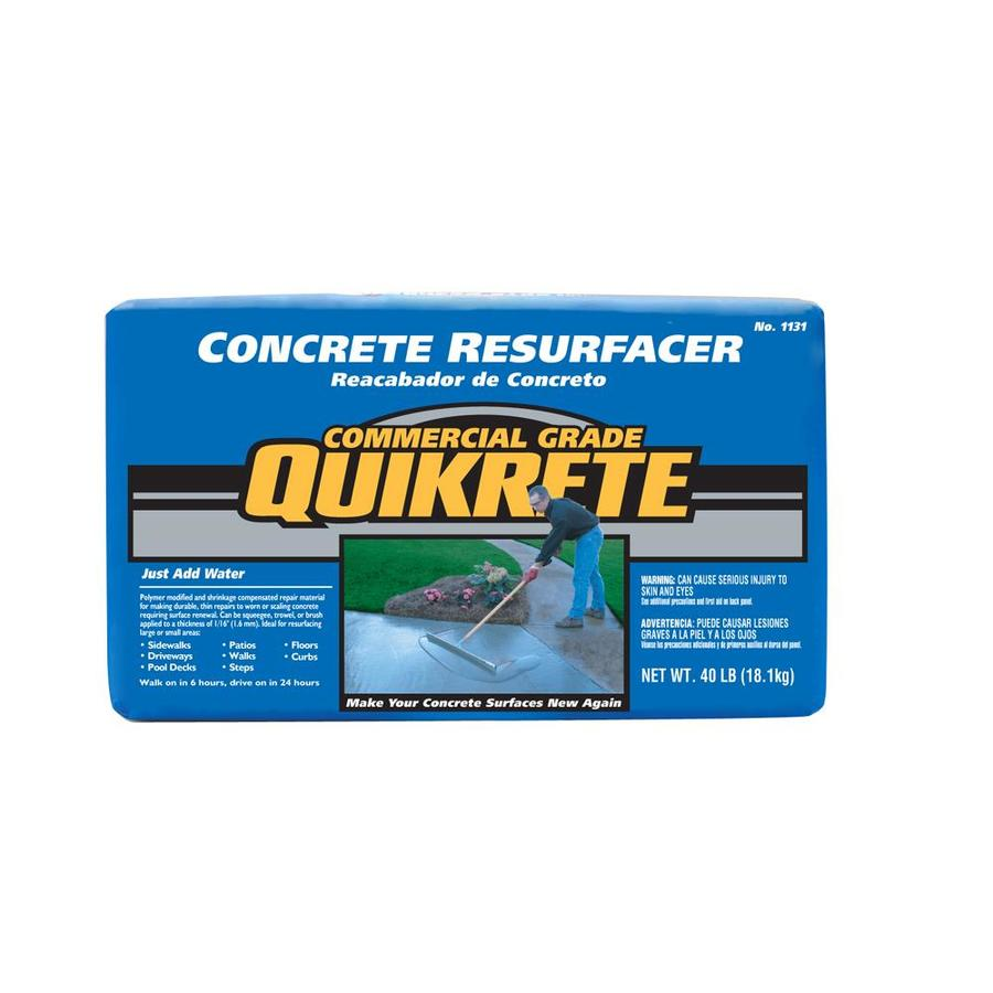 Quikrete Lb Concrete Mix Coverage