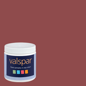 Eddie Bauer Colors by Valspar 8 oz Cabin Red Interior Satin Paint Sample
