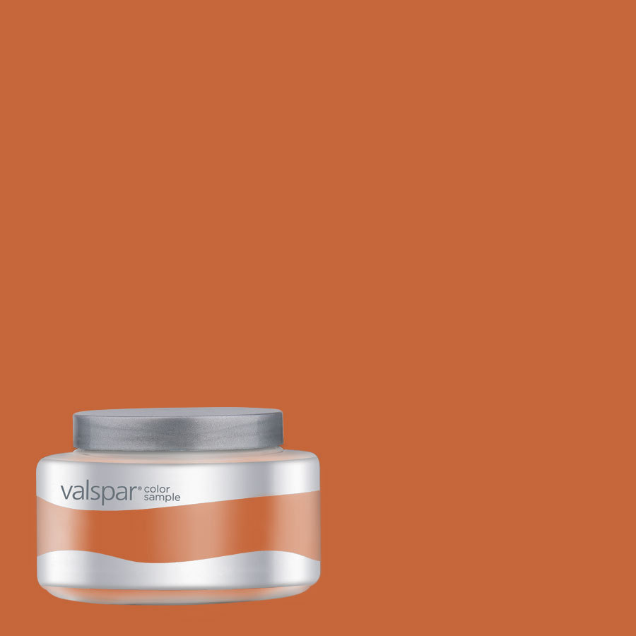 shop valspar pantone burnt orange interior satin paint on valspar paint id=37981
