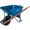 JACKSON 6 Cu. Ft. Heavy-Duty Steel Wheelbarrow with Flat Free Tires
