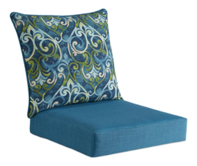 Display Product Reviews For 2 Piece Salito Marine Deep Seat Patio Chair Cushion