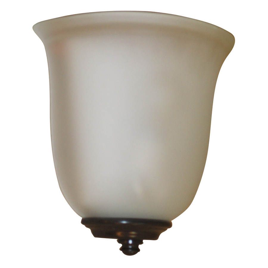 Shop Portfolio 8.5-in W 1-Light Bronze Pocket Battery ... on Battery Powered Wall Sconces id=25495