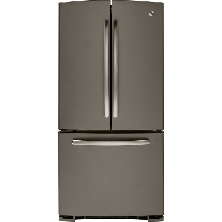 Shop Ge 22 1 Cu Ft French Door Refrigerator With Single