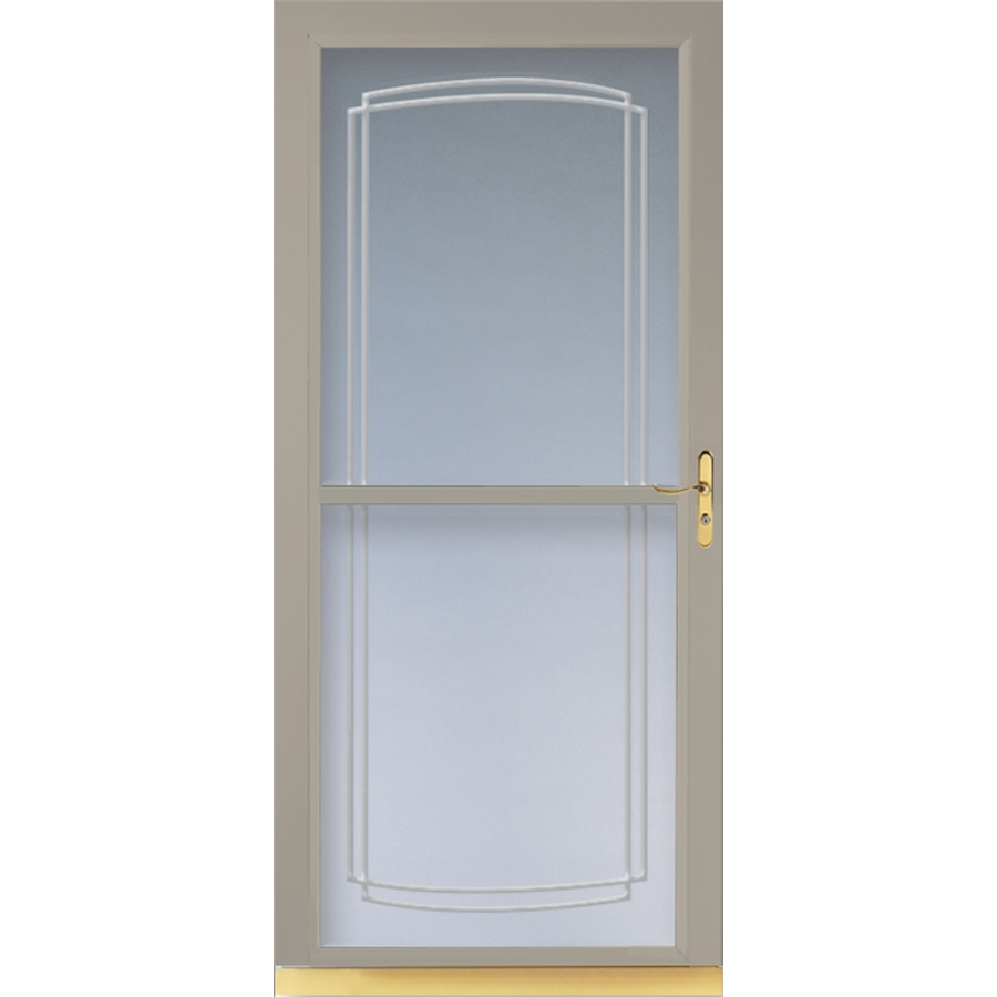 Shop Larson Tradewinds Sandstone Full View Tempered Glass