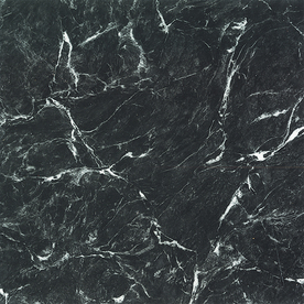 "Cryntel 12"" x 12"" Ebony Marble Finish Vinyl Tile for $0.88 each"