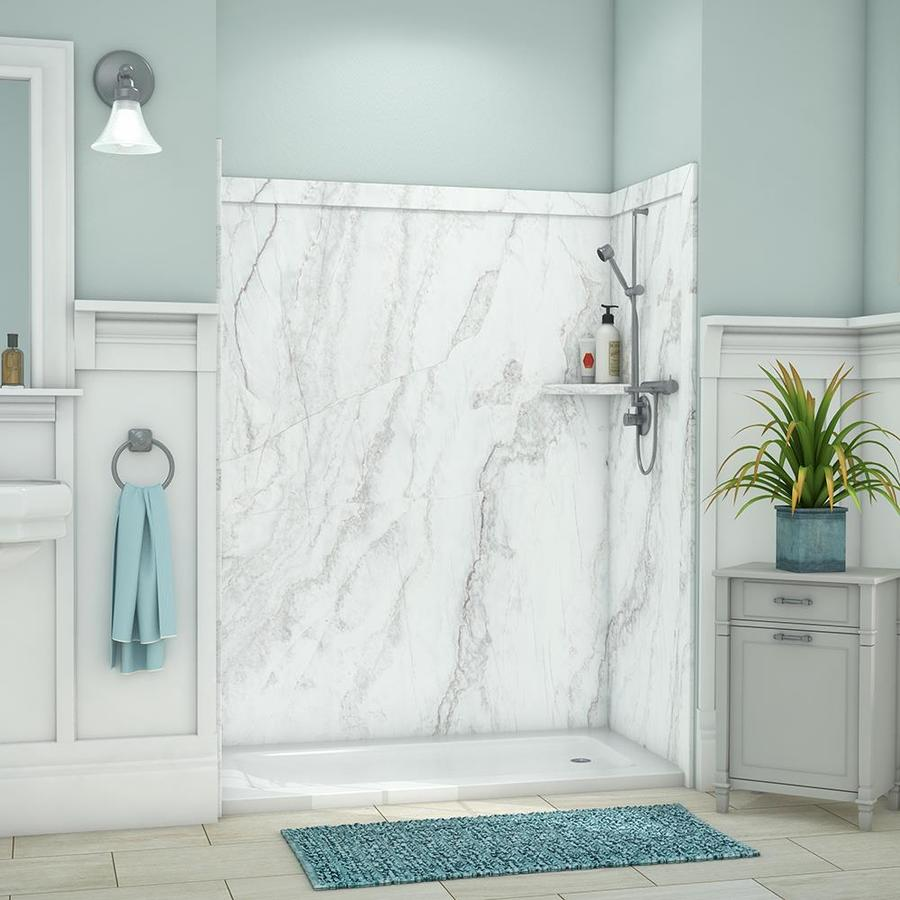 shower walls surrounds at lowes com