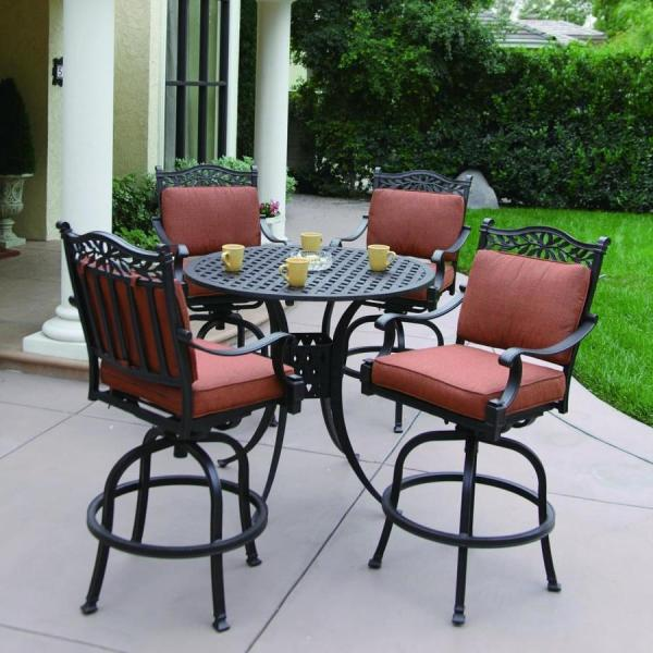 bar height patio table set Bar Height Patio Sets Creativity - pixelmari.com