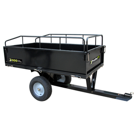 PreciseFit 17 Cu. Ft. Steel Heavy-Duty Utility Dump Cart