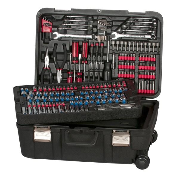 NEW Task Force 204-Piece Standard/Metric Mechanics Tool ...