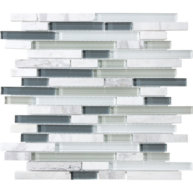 upc 828492205969 allen roth venatino mixed material stone and glass mosaic wall tile common upcitemdb com