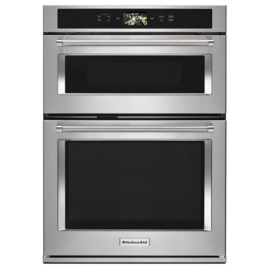 white 30 inch microwave wall oven