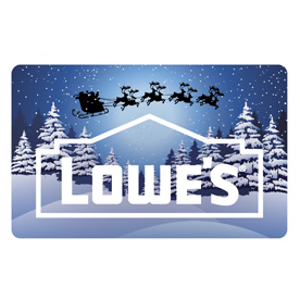 Holiday Lowe's Gift Card
