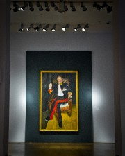The BrigadierdeLucian Freud.... (PHOTO AP) - image 2.0