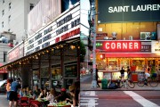 In a cute retro façade where the stars are shining ... (Photos Sarah Mongeau-Birkett, La Presse) - image 7.0 &quot;title =&quot; Good shots in Manhattan, south of the 14th -   <p class=