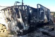 De l'équipement de forage a été incendié en... (Photo tirée de l'Internet) - image 7.0