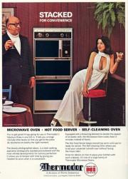 Ancienne publicité pour un micro-ondes de l'entreprise Thermodor... (Photo fournie par Thermodor) - image 1.1