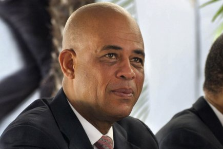 Le président d'Haïti, Michel Martelly.... (Photo: Swoan Parker, Reuters)