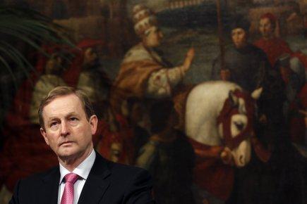Le premier ministre irlandais Enda Kenny.... (Photo Reuters)
