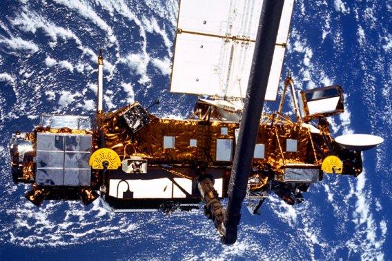 À la fin de septembre, des débris d'un satellite de la NASA, UARS, ont terminé leur chute dans l'Océan Pacifique.
