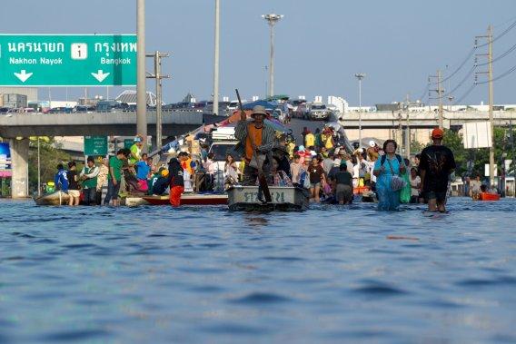 Climat futur: pas plus d'ouragans, mais plus d'inondations