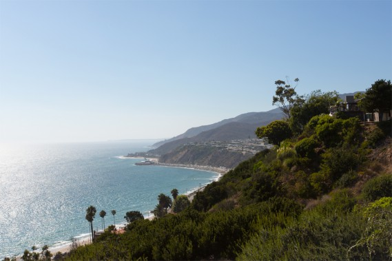 At the top of the hill, caressed by the salt air of the sea, the view of the Pacific is breathtaking. (PHOTO OLIVIER JEAN, THE PRESS) &quot;title =&quot; &quot;/&gt; </div data-recalc-dims=