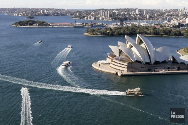 Sydney, en Australie... (Photo: Archives AFP)