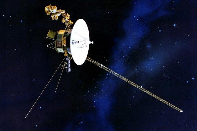 Voyager I a été lancée par la NASA... (Photo archives AP)