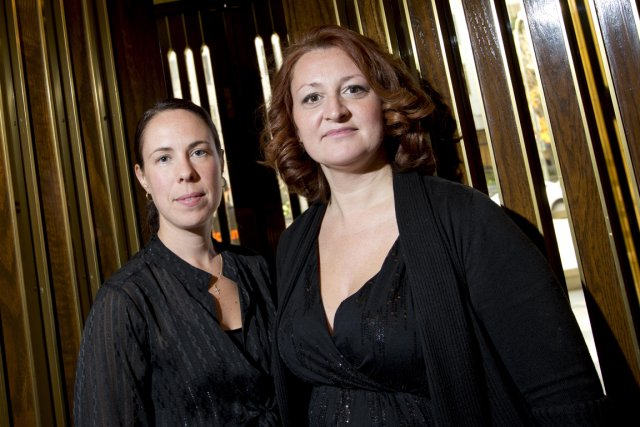 Annie Robert et Nadia Émond.... (Photo Alain Roberge, La Presse)