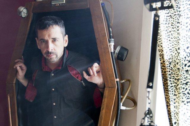 Un drôle de trip, fabriquer des cercueils? Kent... (Photo: François Roy, La Presse)