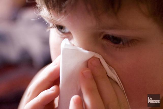 Mes enfants sont constamment enrhumés l'hiver. Que puis-je leur donner pour les... (Photo archives La Presse)