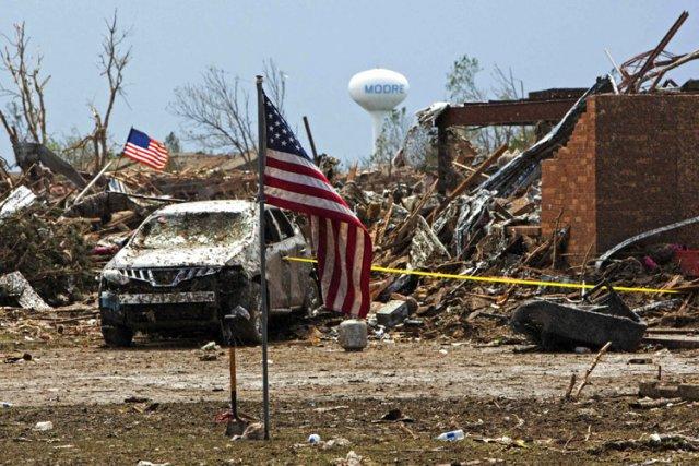 Avec 1200 tornades en moyenne par an, les... (Photo: Reuters)