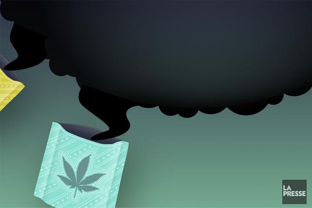 Les autorités de santé publique sont aux aguets. Le cannabis synthétique,... (Illustration La Presse)