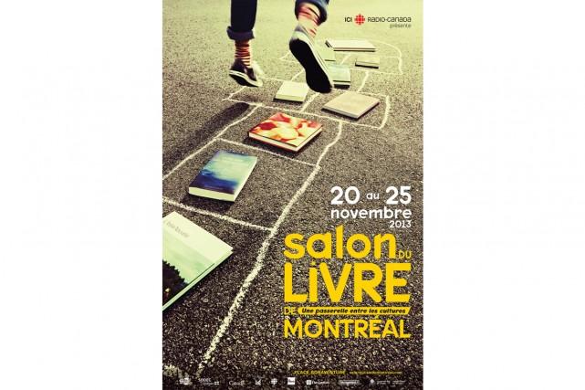 Affiche du Salon du livre de Montréal, édition 2013