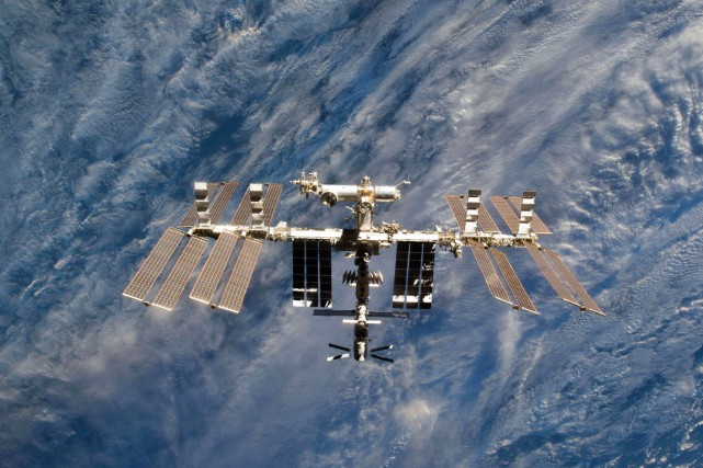 La construction de l'ISS a débuté en 1998... (PHOTO FOURNIE PAR LA NASA)
