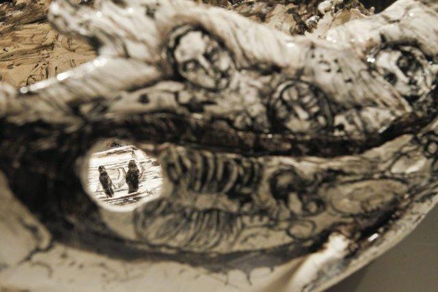 Le Rêve de Dame Franklin, de Lisa Creskey,fascine... (Patrick Woodbury, LeDroit)