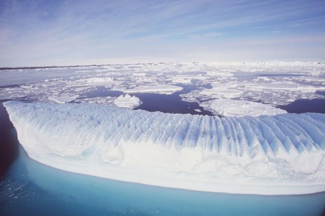 Les vents d'ouest, qui évitent les côtes est... (PHOTO ARCHIVES REUTERS/DIVISION ANTARCTIQUE DE L'AUSTRALIE)