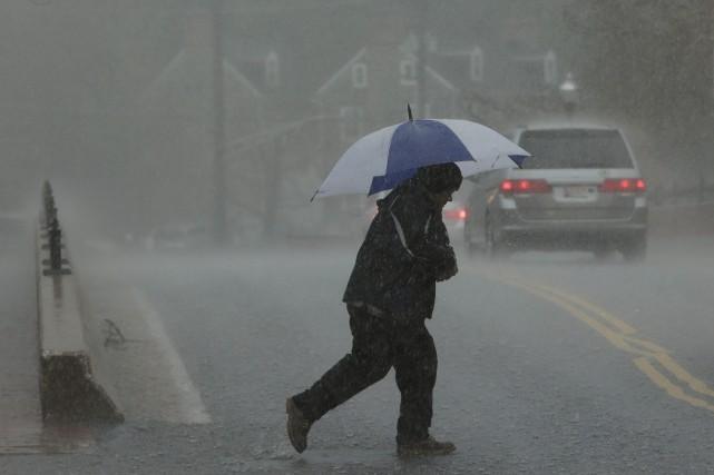 Les auteurs de cette étude ont exclu l'ouragan... (PHOTO GARY CAMERON, REUTERS)