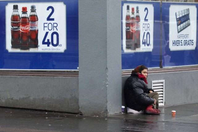 La mendicité, dans les villes qui l'interdiront, sera... (PHOTO STOYAN NENOV, ARCHIVES REUTERS)