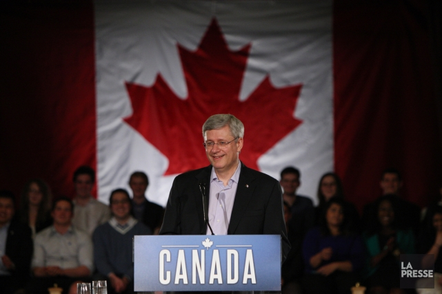 Le gouvernement de Stephen Harper a fait du projet... (PHOTO DAVE CHIDLEY, ARCHIVES PC)