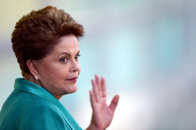 Dilma Rousseff... (Photo EVARISTO SA, AP)