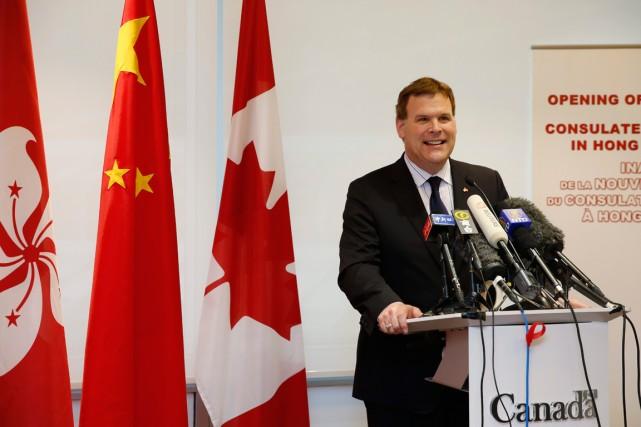 Le ministre des Affaires étrangères, John Baird, lors... (PHOTO ARCHIVES AP)