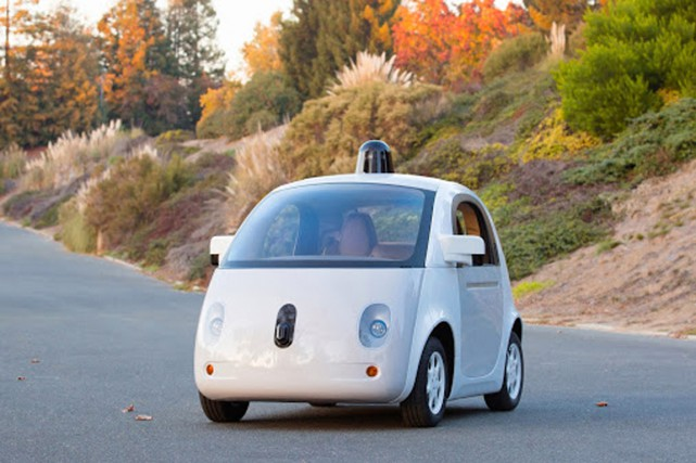 La voiture sans conducteur de Google.... (PHOTO FOURNIE PAR GOOGLE)
